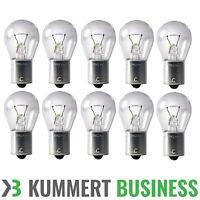 10 Glühbirnen Glühlampen für Rückleuchten Bremslicht 12 Volt 21Watt BA15S PKW