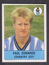 Panini - Football 91 - # 65 Paul Edwards - Coventry