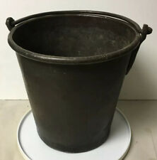 Early Antique Primitive Copper Bucket