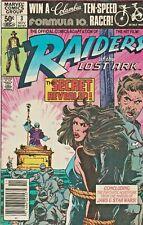 Raiders Of The Lost Ark #3 Movie Adaptation Marvel 1981 Nice!