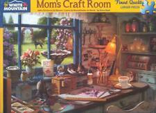 Steve Read White Mountain Jigsaw Puzzle Mom's Craft Room NIB