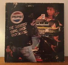 Pepsi The Greatest Thing Since Rock N Roll Album Vinyl Record LP
