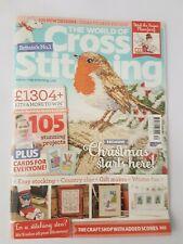World of Cross Stitching Magazine - Issue 234 Christmas, Xmas, Robin, Westie Dog