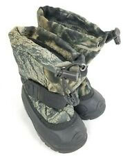 Kamik Camo Removable Insulated Boys Toddler Camouflage Snow Boots Preowned US 5