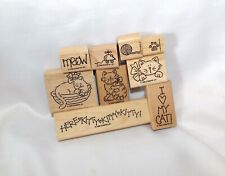Stampin Up, Meow Meow stamp set, kitties kittens cats cute!