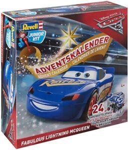Adventskalender Fabulous Lightning McQueen von Revell Junior Kit - Disney Cars 3