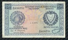 Cipro banconota da 250 mil