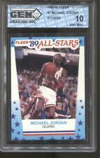 1989-90 Michael Jordan Fleer Sticker #3 Gem Mint 10 Chicago Bulls MVP HOF