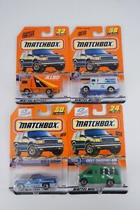 4 pc Matchbox Speedy Delivery 22 Container 24 Transport 58 Armored 60  El Camino
