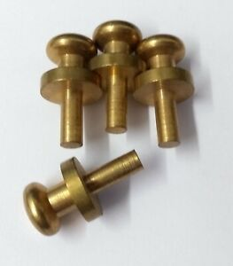 Genuine Military Issue Belt Studs For Sam Browns Pouches Straps etc X4 STD190