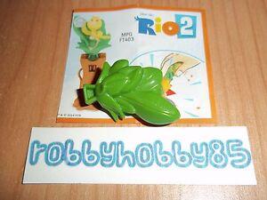 FT403 Nico + Bpz FT403 Kinder Merendero Joy Italie 2014 Rio 2