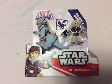 Galactic Hero Star Wars Hon Solo TaunTaun, Poes X-Wing, Trooper Speeder Bike