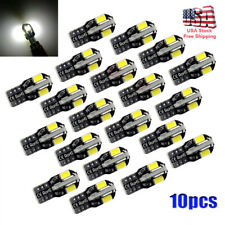 10pcs Canbus T10 194 192 168 W5W 5730 8 LED SMD White Car Side Wedge Light Bulb