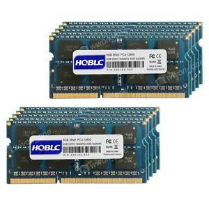 New 64GB 8x8GB PC3-12800 DDR3-1600MHz 1.5V Non Ecc SODIMM AMD Laptop  Memory