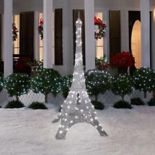Christmas Decoration Pre Lit Eiffel Tower Outdoor Yard Decor Xmas Sculpture 7 FT