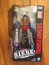 Starscream Transformers Siege Cybertron form moc mib