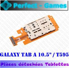 """Samsung Galaxy Tab A 10.5"""" T595 lecteur carte SIM mémoire micro SD card reader"""
