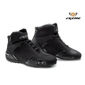 Shoes Motorcycle Women Sports Waterproof IXON Gambler Wp Lady Black