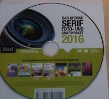 Das Grosse SERIF Foto- UND Grafikpaket 2016