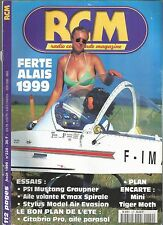 RCM N°220 PLAN : MINI TIGER MOTH / P51 MUSTANG GRAUPNER / STYLUS MODEL AIR EVA.