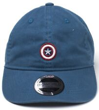 Marvel Captain America Cap - Embroidered Shield Hat Official New