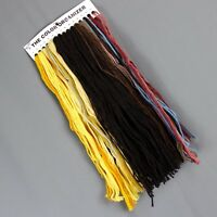 4 oz Wool Tapestry Yarn Needlepoint Crewel 12 Different Brown Yellow Colors NEW