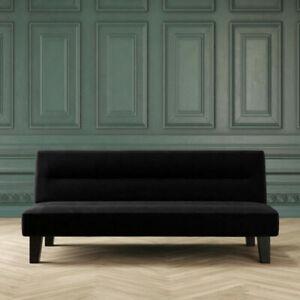 DHP 2005019 Kebo Futon Sofa Bed - Black