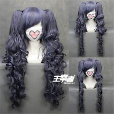 Black Butler Kuroshitsuji CIEL long Phantomhive Ponytail Cosplay Anime Wig + NET