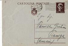 CARTOLINA POSTALE LIRE 1,20 NOVEMBRE 1945 C3-1