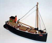 70ft Steam Coaster Puffer Ship Full Hull NMB11 UNPAINTED N Gauge Scale Model Kit