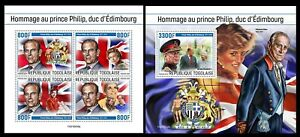 Togo 2021 Tribute to Prince Philip.  (232)