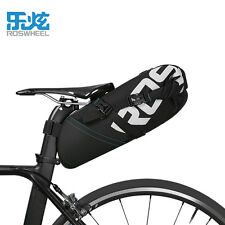 ROSWHEE Newest Bike Saddle Bags Pannier Accessories 8L Waterproof Bicycle Bags