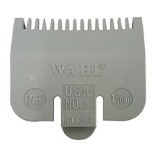 "1/16"" Wahl Professional Attachment Clipper Guide Replacement Guard 1.5mm #1/2"