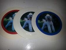 QTY 1 (ONE) TAX DISC holders - permit holders-- dog ref 8 (poodle)
