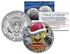SPONGEBOB 2013 BALLOON NYC Thanksgiving Day Parade Genuine JFK U.S. Half Dollar