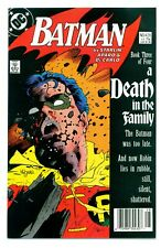 BATMAN #428('88)DEATH IN THE FAMILY(D:JASON TODD)NEWSSTAND/SIGNED(CGC IT)9.0/9.2
