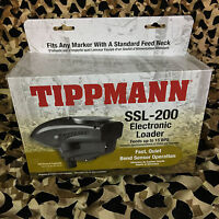 NEW Tippmann SSL-200 Electronic Paintball Loader Hopper - Black (T299011)