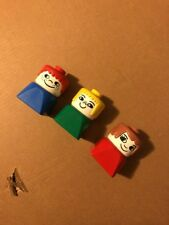 Vintage Lego DUPLO People Figures Minifigures