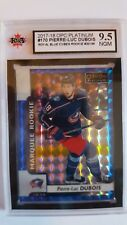 Pierre-Luc Dubois 2017-18 Royal Blue Cubes Rookie Card #20/99 KSA Graded 9.5!!!