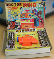 V RARE: Chad Valley 1965 Doctor Who Give-a-Show Projector. % to charity do!