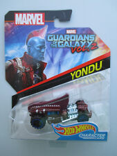 "HOT WHEELS MARVEL CHARACTER CAR- ""YONDU"" GUARDIANS OF THE GALAXY VOL.2 NEW!"