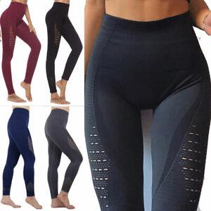 Women's Vital Seamless Leggings Gym Sportswear Shark Yoga Workout Fitness Pants