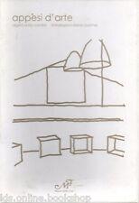 Appesi d'arte con 26 cartoline dipinti Silvia Cardini, Installazioni Elena Barth