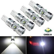 4pcs High Power 25W T10 5-CREE Q5 LED bulbs Backup Reverse Lights 912 921 T15