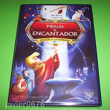 MERLIN EL ENCANTADOR CLASICO DISNEY NUMERO 18 - DVD NUEVO Y PRECINTADO