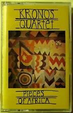 Kronos Quartet:  Pieces Of Africa (Cassette, 1992, Electra) NEW