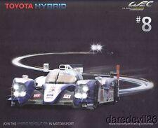 2013 Toyota Motorsport TS030 Hybrid LMP1 COTA WEC postcard