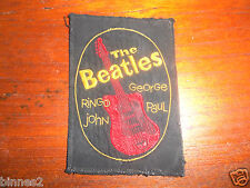 THE BEATLES OFFICIAL SEW ON BADGE PATCH as advertised in Monthly book no 2 MINT