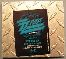 ZZ Top Recycler Steel Cover USA 1990 Limited Edition CD Sealed New Promo Version