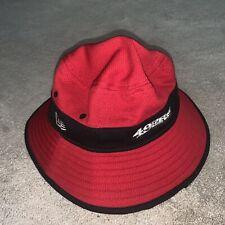 San Francisco 49ers New Era NFL Training Camp Sideline Bucket Hat - Red Black